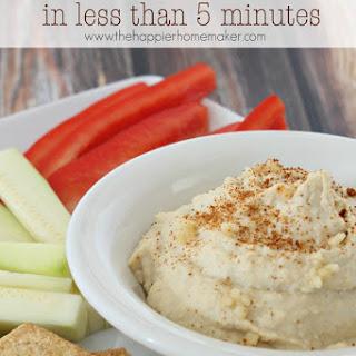 Homemade Hummus.
