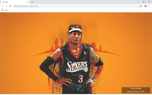 Allen Iverson New Tab & Wallpapers Collection