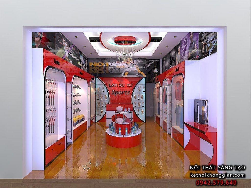 thiết kế shop thời trang thể thao Lân sư tử 2