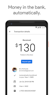 Google Pay Send Screenshot