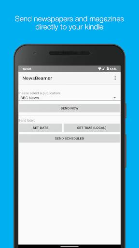 Newsbeamer screenshots 1