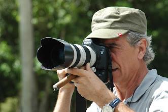 Photo: Jose Goitia, photographer in Cuba. Tracey Eaton photo.