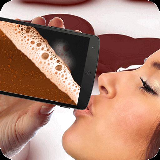 チョコレートシミュレータを飲みます 棋類遊戲 App LOGO-APP試玩