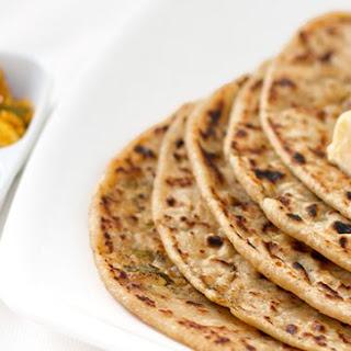 Aloo Paratha – Potato Stuffed Indian Bread.