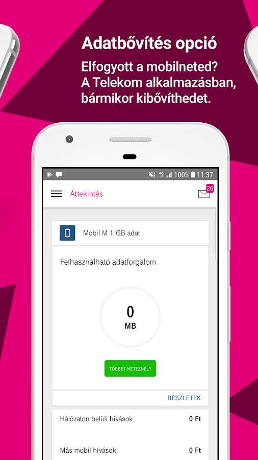 Telekom- screenshot