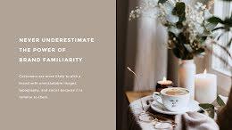 Brand Familiarity - Presentation item