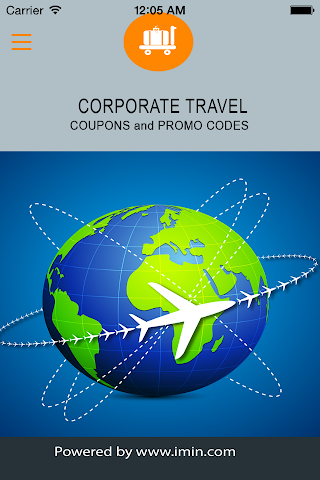 android Corporate Travel Coupons-Im In Screenshot 0