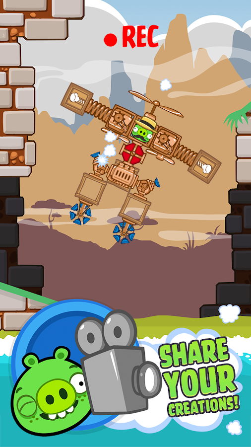 Bad Piggies HD- screenshot