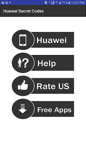 Secret Codes of Huawei 1.4 screenshots 2