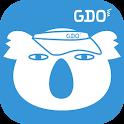 ゴルフスコア管理、ゴルフレッスン動画 - GDOスコア icon