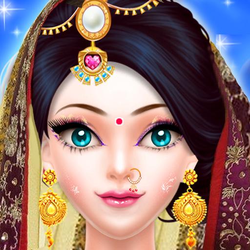 Indian  Wedding Fashion Gopi Girl Makeup Salon