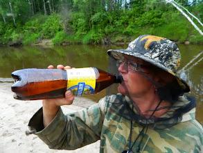 Photo: А теперь можно и пивка вдарить.