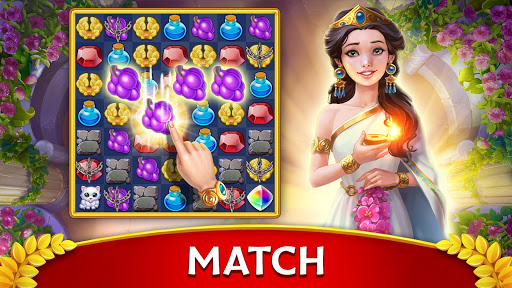 Jewels of Rome: Match gems to restore the city modavailable screenshots 9