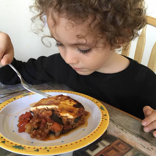 Easy Moussaka From Alexandersmom.com