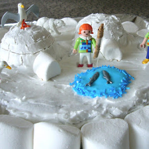 Winter Igloo Cake