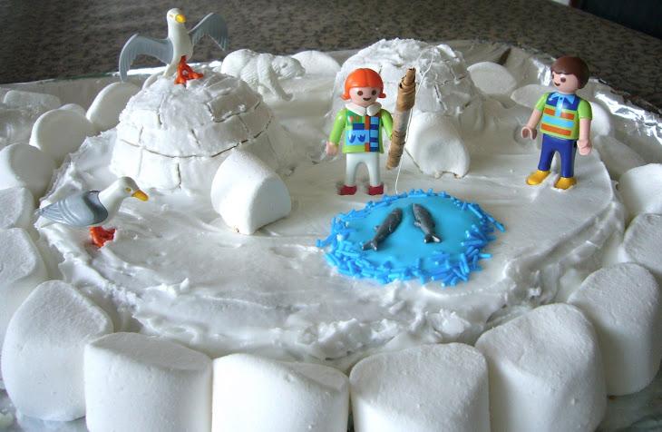 Winter Igloo Cake Recipe