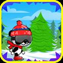 Panda de patinage d'aventure icon