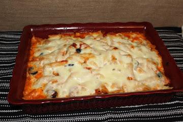 Chicken Penne Pasta Casserole Recipe