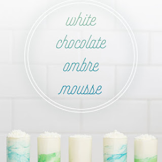 Ombré White Chocolate Mousse Recipe