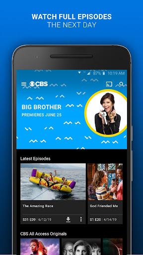 CBS - Full Episodes & Live TV 6.4.0 screenshots 1