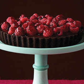 Chocolate Raspberry Tart.