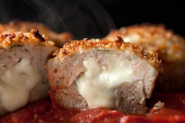 Individual Cheesy Turkey Meatloaf  Bites Recipe