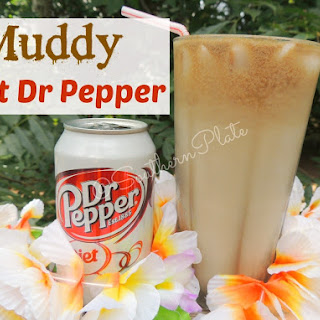 Muddy Diet Dr Pepper.