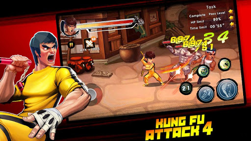 Kung Fu Attack 4 - Shadow Legends Fight 1.0.9.101 screenshots 2