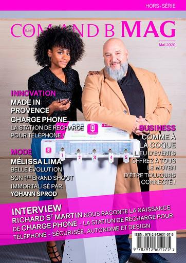 magazine president fondateur modele couverture article presse service a la personne recharge telephone