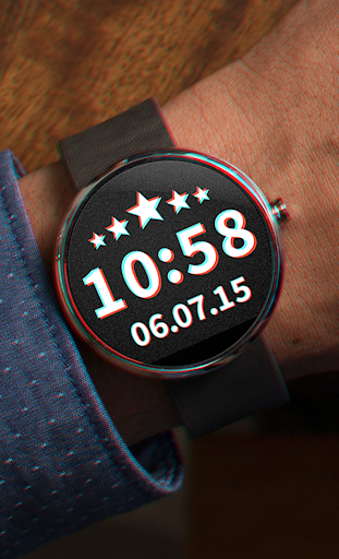 Watch Face Anaglyph 3D 2in1