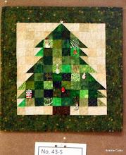 "Photo: #43-S, Sharon Garner, ""Miniature Christmas Tree Quilt"""