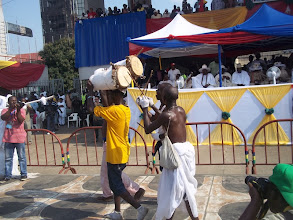 Photo: Eyo Olokun drummers
