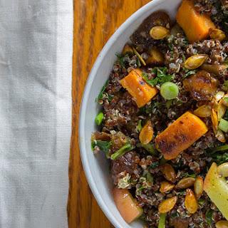 Roasted Butternut Squash Quinoa Salad Recipe