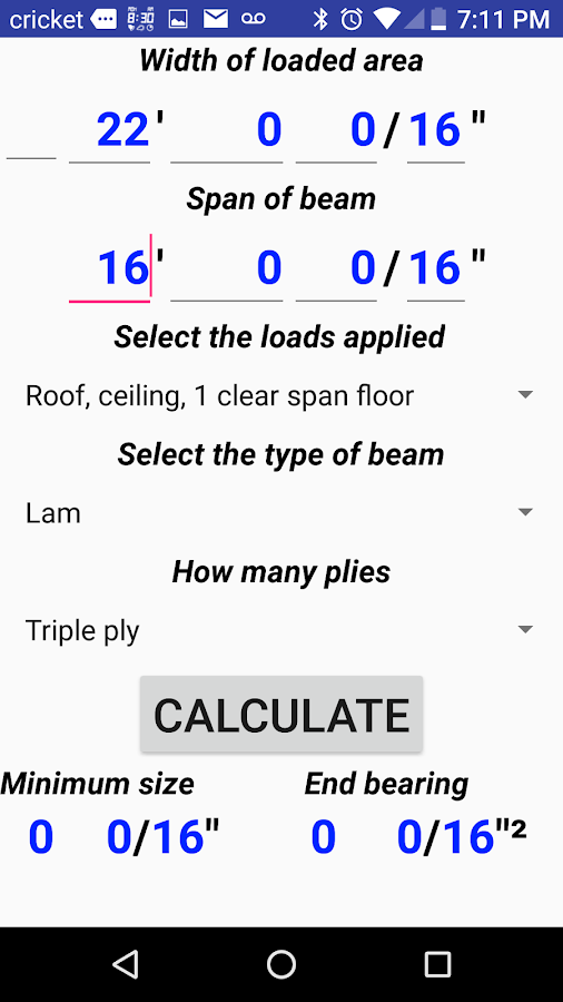Wood Beam Calculator Android Apps On Google Play
