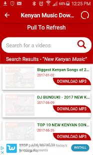 Kenyan Music Downloader - náhled