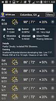 Screenshot of WTVM Storm Team 9 Weather