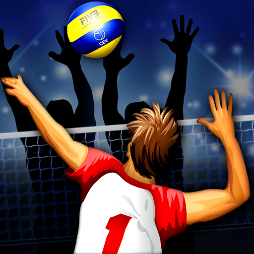 Volleyball Championship Icon