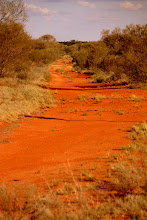 Photo: Year 2 Day 219 - Red Earth Track to Where?