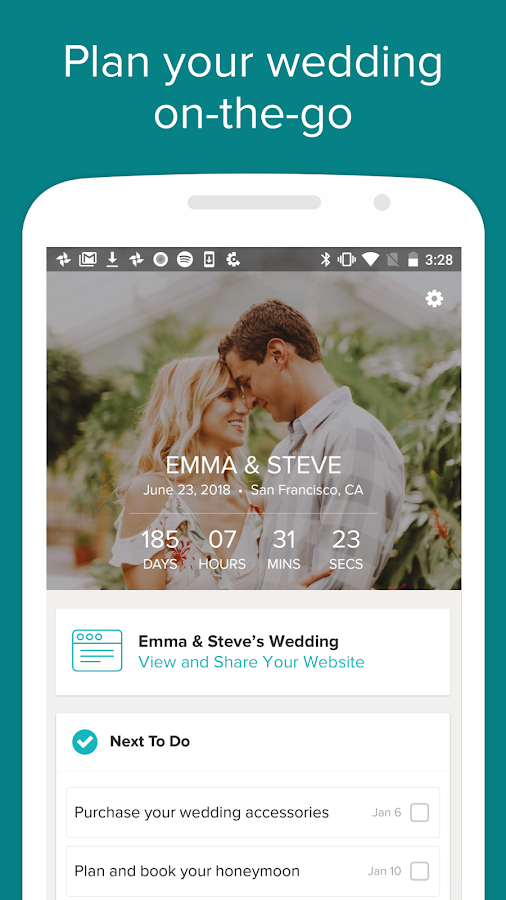 Wedding Planner by WeddingWire - Venues, Checklist- screenshot