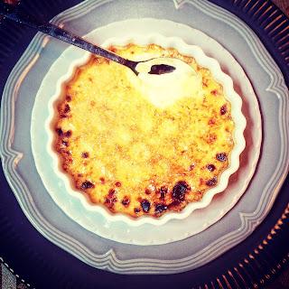 Crème Brûlée with Sauternes.