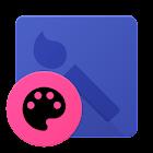 zflatshade UI dark for CM12 icon