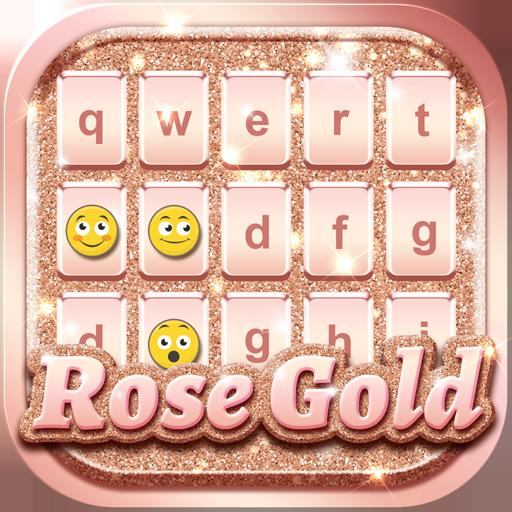 Rose Gold Keyboard