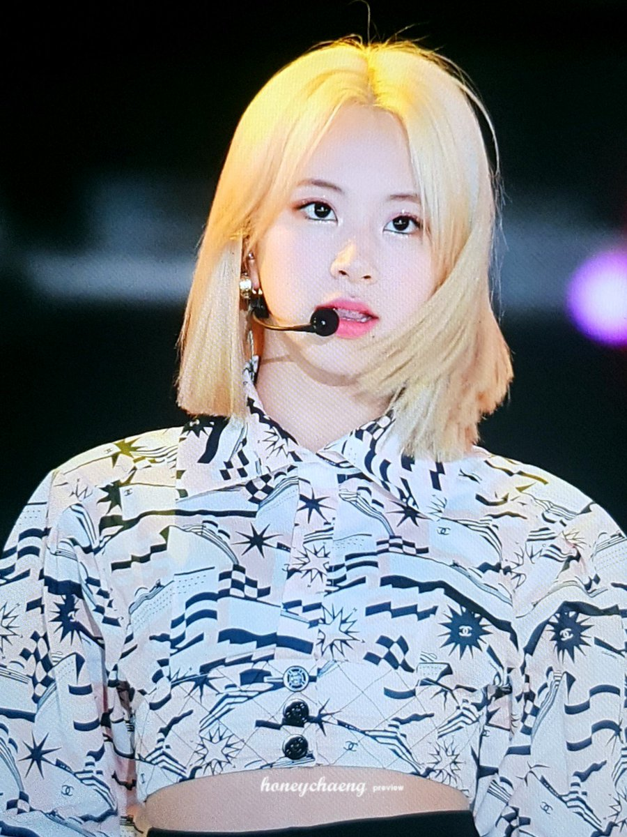 5 Pre Blonde Hairstyles TWICE Chaeyoung Totally Rocked