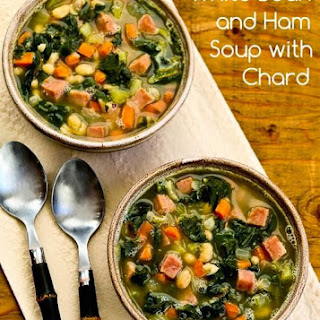 White Bean and Ham Soup with Chard