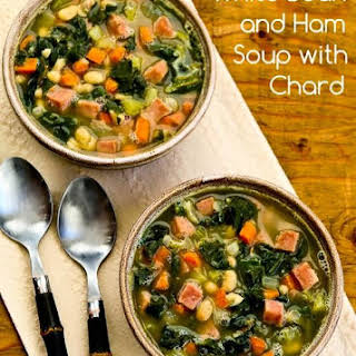 White Bean and Ham Soup with Chard.