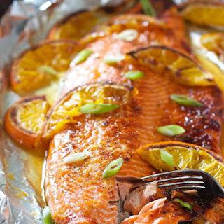 Orange Honey Glazed Salmon Recipes.