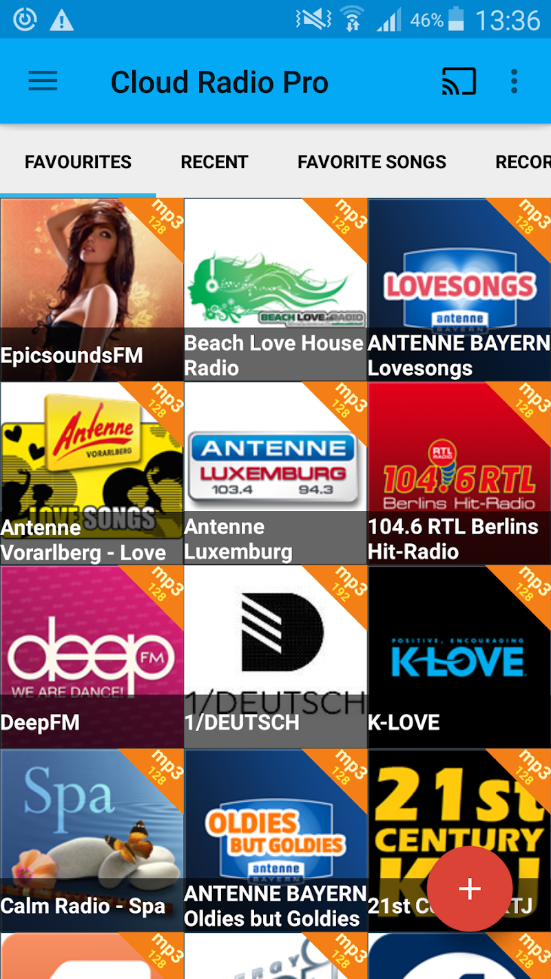 Cloud Radio Pro ( Record & Lyrics ) Screenshot