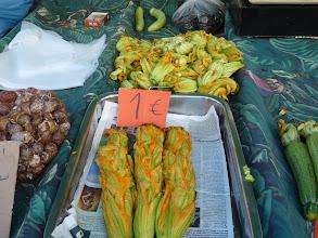 Photo: zucchini flowers