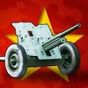 Artillery Guns Arena sniper Defend & Destroy Tanks icon