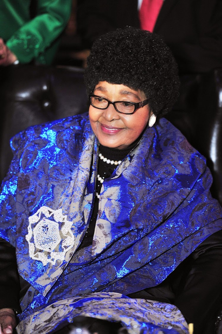 Mama Winnie's death teaches us our differences are eclipsed by our shared desire to follow her lead said president Cyril Ramaphosa during the funeral service.